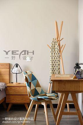 热门129平米北欧复式卧室装修设计效果图