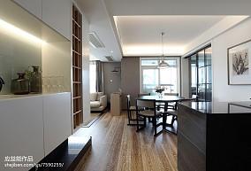 精美简欧三居餐厅装修图片欣赏三居北欧极简家装装修案例效果图
