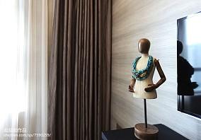 热门102平米三居卧室简欧装修设计效果图片大全三居北欧极简家装装修案例效果图