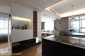 三居客厅简欧装修实景图片欣赏三居北欧极简家装装修案例效果图