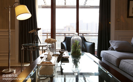 典雅971平欧式别墅客厅装修装饰图