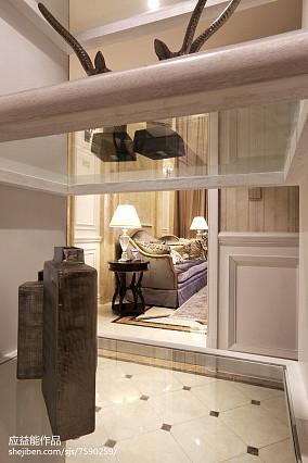 2018精选114平米欧式别墅客厅装饰图片别墅豪宅欧式豪华家装装修案例效果图