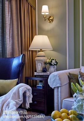 优雅51平美式二居客厅美图