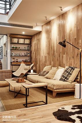 精美面积93平三居客厅效果图片