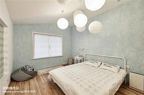 精美面积92平三居卧室实景图片