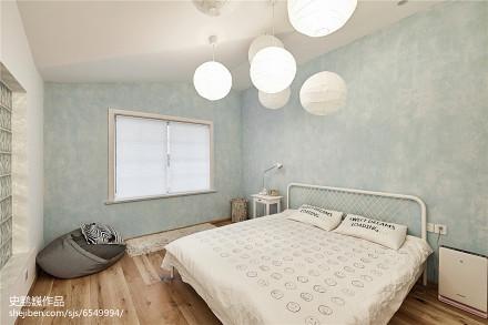 精美面积92平三居卧室实景图片卧室