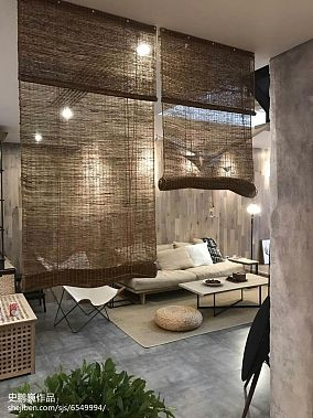 2018106平米三居书房装修效果图