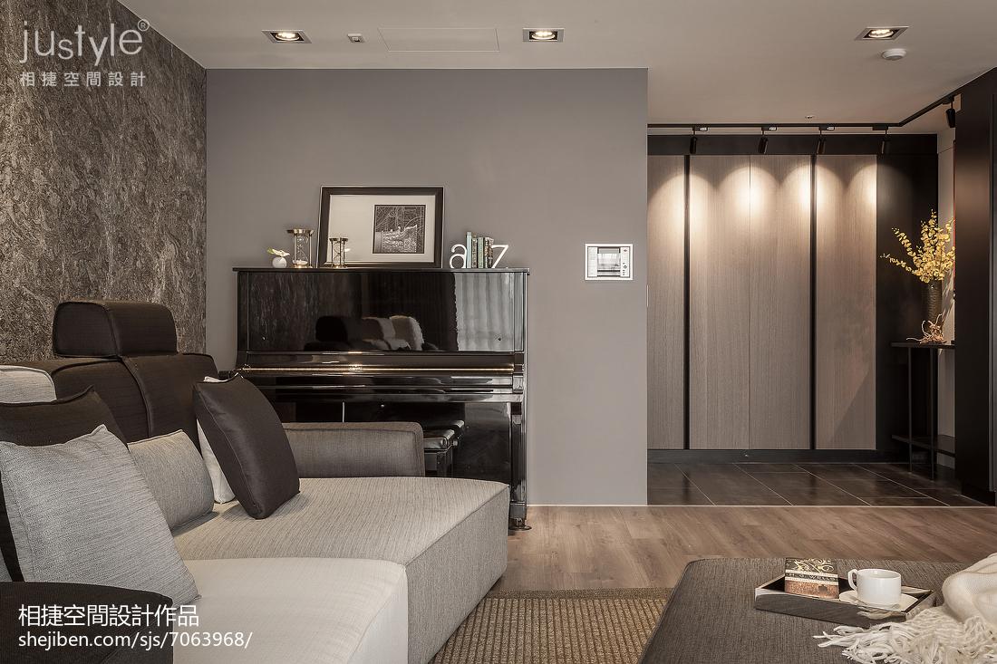2018面积144平四居客厅效果图片欣赏客厅潮流混搭客厅设计图片赏析
