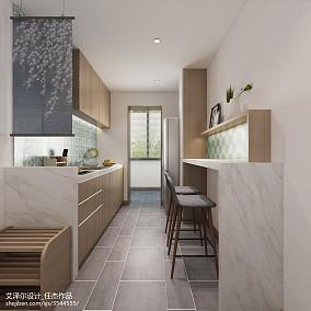 精选日式三居厨房实景图片欣赏餐厅日式设计图片赏析