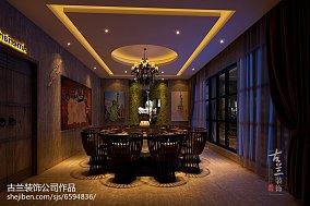 欧式风格餐厅背景墙图片
