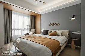 精美北欧风卧室装饰图三居北欧极简家装装修案例效果图