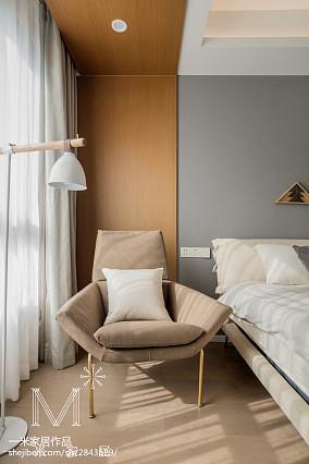 热门102平方三居卧室北欧装饰图片欣赏三居北欧极简家装装修案例效果图