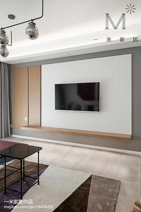 2018精选大小108平北欧三居客厅效果图片欣赏三居北欧极简家装装修案例效果图