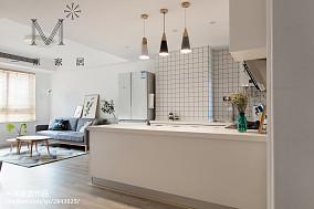 简洁100平北欧三居装饰图片