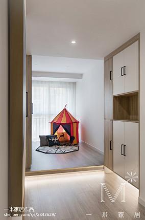 精选三居休闲区北欧效果图三居北欧极简家装装修案例效果图