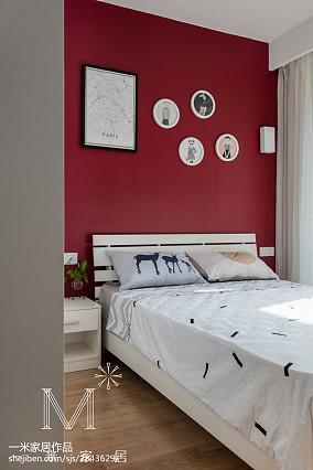 面积90平北欧三居儿童房装修设计效果图片大全三居北欧极简家装装修案例效果图