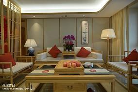 2018精选136平米四居客厅中式装修实景图片