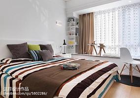精选二居卧室北欧装修效果图片大全