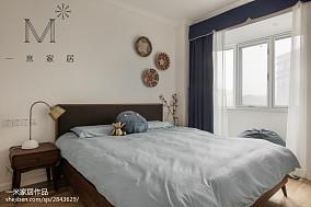 2018精选面积92平北欧三居卧室欣赏图片