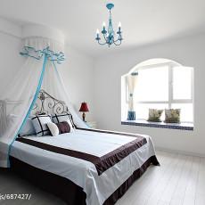 精选三居卧室地中海设计效果图