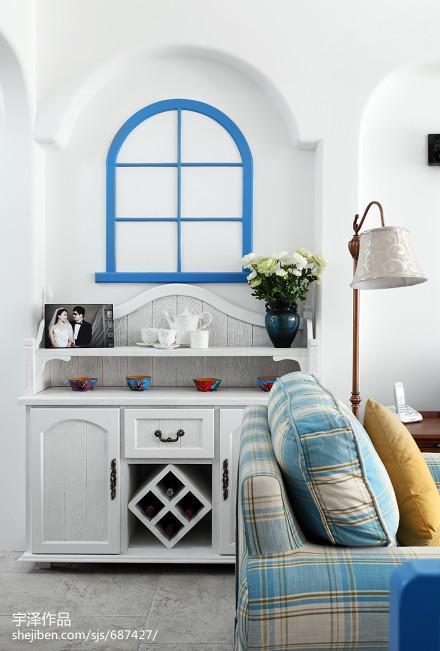 精美三居餐厅地中海装饰图片厨房1图