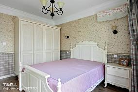 田园三居卧室装饰图