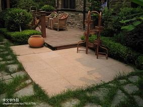 2018精选122平米美式别墅花园装修设计效果图