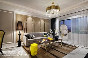 大气新古典风格客厅布置