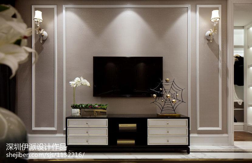 质感新古典风格客厅装修