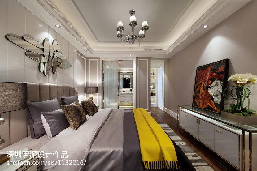 家居新古典风格卧室图片
