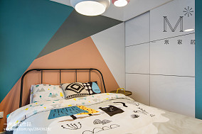 精美面积97平现代三居卧室效果图片欣赏