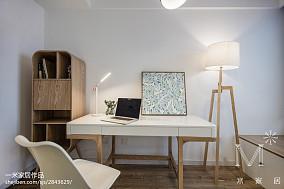 精美面积106平现代三居书房装修实景图片大全