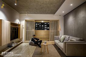 热门93平米三居客厅日式装修图片欣赏