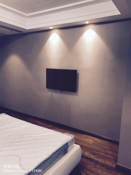 现代简约住宅卧室1图