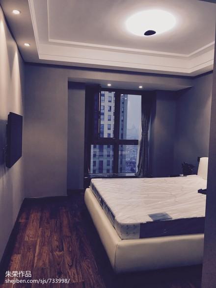 现代简约住宅卧室2图