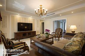 热门面积135平欧式四居客厅欣赏图