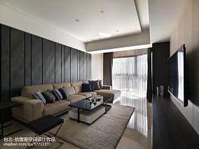 100平米三居客厅现代效果图片