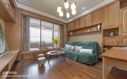2018小户型客厅日式设计效果图客厅