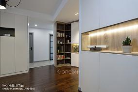 87平米二居餐厅现代欣赏图片