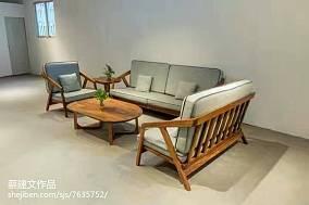 古典简中式卧室装潢布置