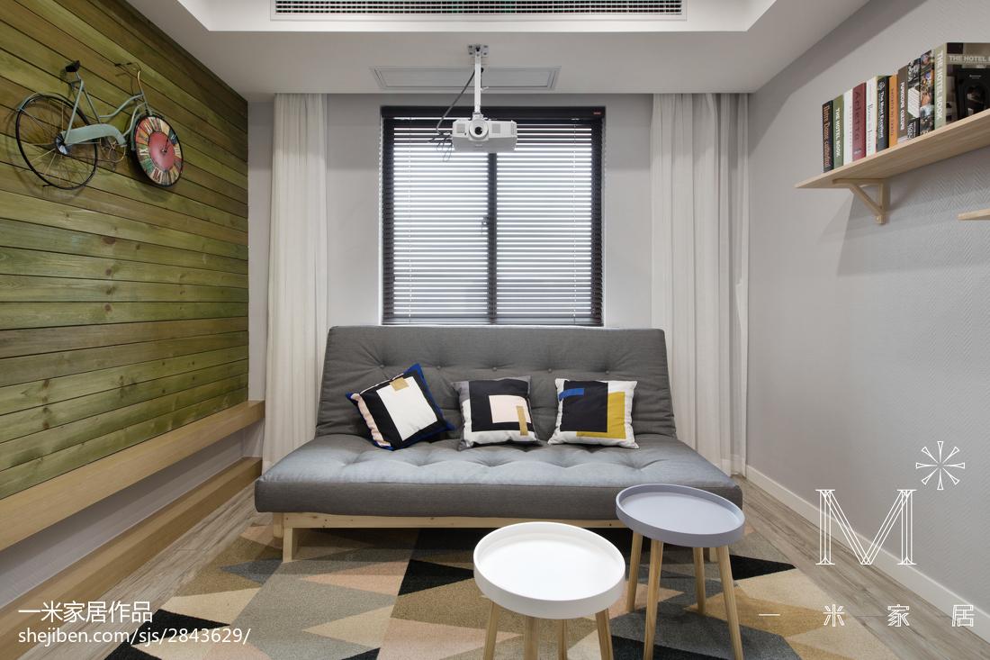 精美63平现代二居休闲区装饰图片功能区现代简约功能区设计图片赏析