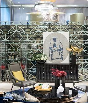 精选122平米新古典别墅客厅装饰图片大全