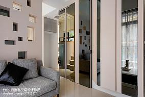热门面积71平小户型客厅现代装修效果图片大全