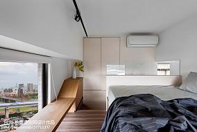 简单舒适现代风卧室装修