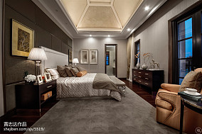 精美面积138平别墅卧室欧式欣赏图片大全别墅豪宅欧式豪华家装装修案例效果图