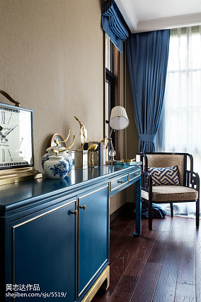 精选113平米欧式别墅卧室装修效果图片别墅豪宅欧式豪华家装装修案例效果图