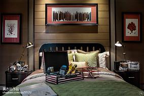 精选120平米欧式别墅卧室装饰图片别墅豪宅欧式豪华家装装修案例效果图