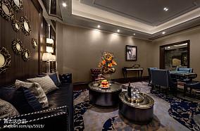 热门120平米欧式别墅休闲区装修设计效果图片别墅豪宅欧式豪华家装装修案例效果图
