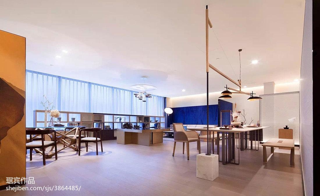 精选面积93平中式三居客厅装修实景图客厅