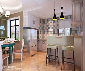 厨房与餐厅吧台